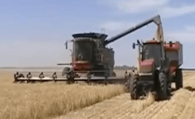 Harvesting based on Agri Data (Field Map)